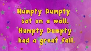 Karaoke - Karaoke - Humpty Dumpty Sat On A Wall