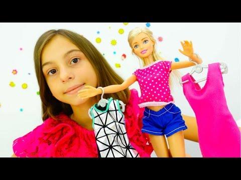 Видео про кукол - Барби модельер - Игры для девочек