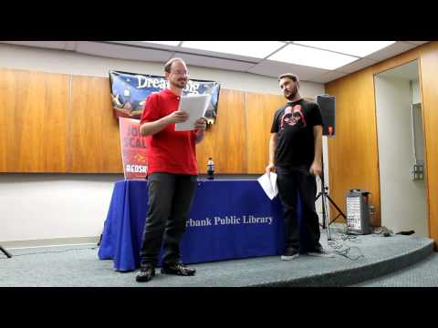 "John Scalzi and Wil Wheaton Perform a ""Redshirts"" Reading"