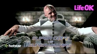 Shapath SuperCops Vs SuperVillains LifeOK TV - Crocodile Man Intro, w/Imran Khan Sr & Zachary Coffin