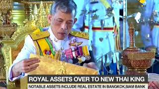 New Thai King takes over $30 billion fortune