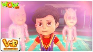 Nakli Aliens - Vir: The Robot Boy - Mini Series - 3D Animation cartoon for Kids