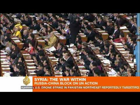 Russia and China 'delay' UN action on Syria