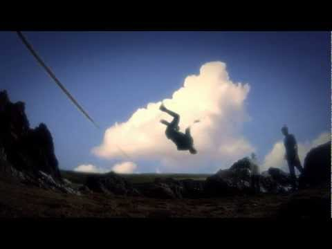 GoPro HD Backflip off a Slackline 2000fps using Twixtor, @ Mothecombe Beach super slo-mo