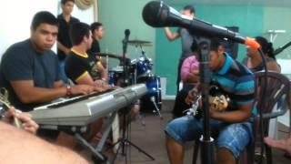 Aula de música, grupo de louvo capela IDPB shangri