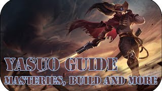League of Legends Yasuo Guide (High Noon Skin) (Abilities, Masteries etc.) #4