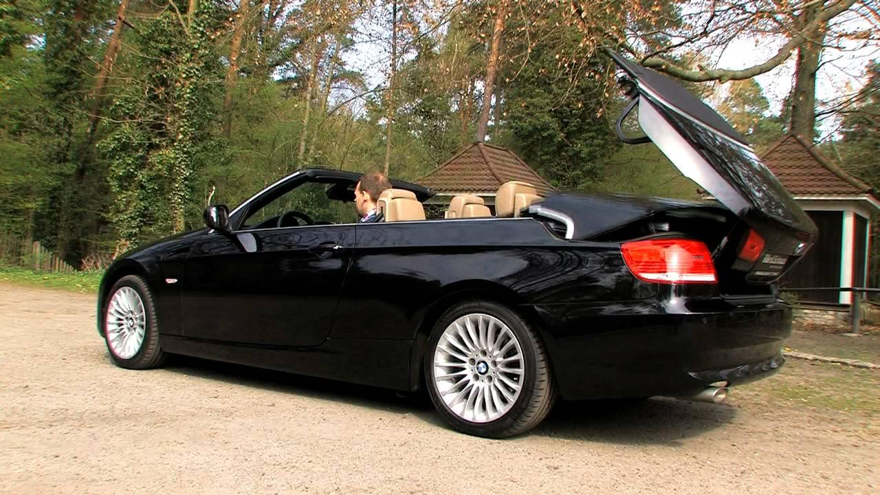 Bmw 320d Cabriolet E93 Als Gebrauchtwagen Elegant Mit Klappdach Youtube