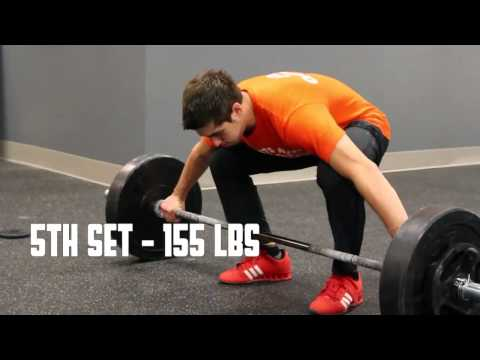 CrossFit - WOD 121118 Demo with Michael Zoda