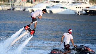 Prince Of Dubai Sheikh Hamdan Doing Flyboarding  !! (VLOG) UAE