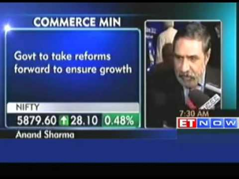Govt to take reforms forward to ensure growth: Anand Sharma