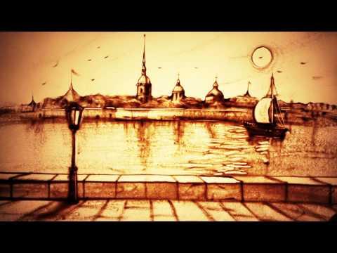 Песочное шоу о Санкт-Петербурге - Ксения Симонова (победитель украинской Минуты Славы) - SAND ART
