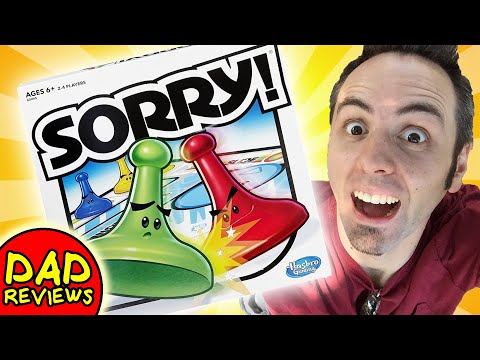 BEST BOARD GAMES FOR KIDS | Sorry Board Game Review