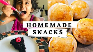 4 Healthy snack ideas for kids | Easy baked snacks