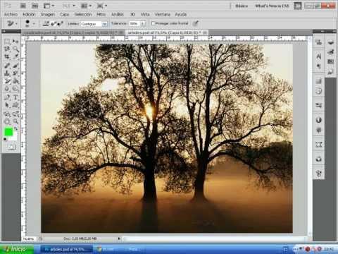 Photoshop CS5 - Borrar fondos de manera fácil y sencilla con la herramienta borrador de fondos