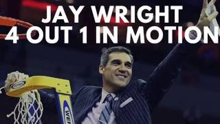 Jay Wright 4 out 1 in motion offense complete guide