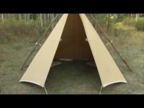 Tarp Tent Set Up