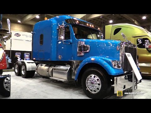 2015 Freightliner 122SD SPA Truck with Detroit DD15 14.8L 505hp Engine - Walkaround 2015 Expocam MTL