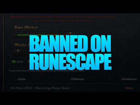 Hacked. then banned on Runescape - Proving my innocence
