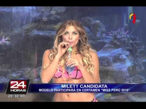 Milett Figueroa Será Candidata A Miss Perú 2016