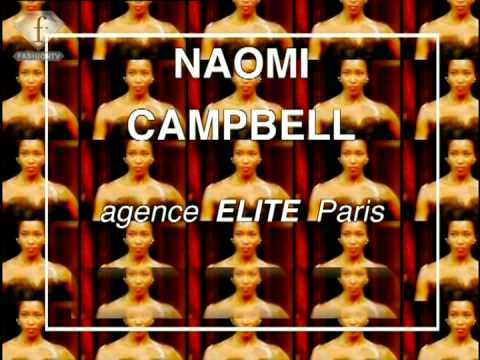 fashiontv | FTV.com - MODELS NAOMI CAMPBELL - FIRST FACE NEW YORK FASHION WEEK Video