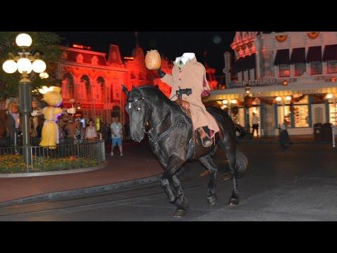 Headless Horseman Multi-Angle Ride at Mickey's Not-So-Scary Halloween Party, Magic Kingdom