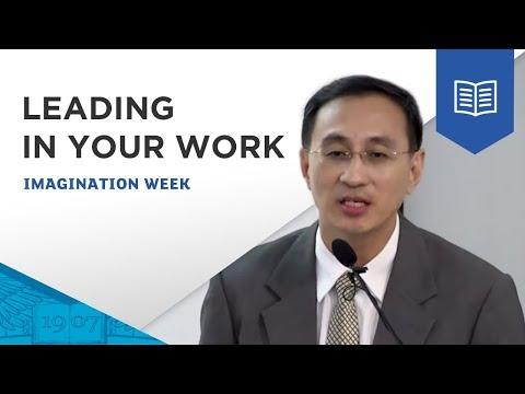 Leading in your work & life, by Desmond Kuek, SMRT Corp., Singapore iMagination Week 2016, ESSEC AP
