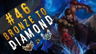 Bad Team? NP | I Am Trick2g Jr | Udyr TOP | Depths of Bronze to Diamond Episode #46