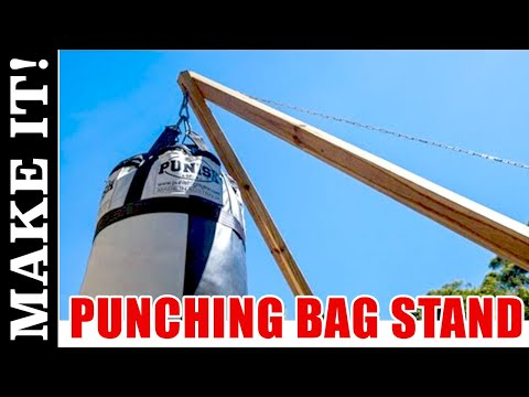 How to Make a Kickboxing or Punching Bag Stand