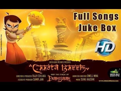 Chhota Bheem And The Curse Of Damyaan Movie Full Songs | Juke Box video