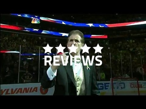 Boston Bruins.Buffalo Sabres National Anthem at TD Garden - First Home Game Since Marathon Tragedy