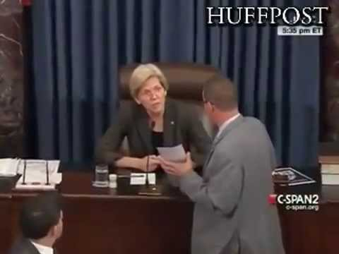 Elizabeth Warren Smiles Big After Senate Confirms Richard Cordray To Her Consumer Board