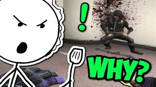 MATKA BIJE SYNA! - CS:GO FUNNY MOMENTS