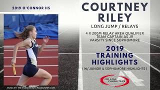 Courtney Riley - 2019 Training Highlights w/ Junior & Sophomore Highlights c/o 2019