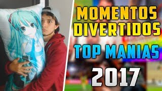 Momentos Divertidos de Top Manias 2017