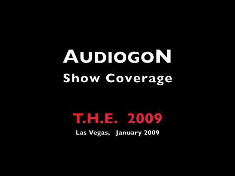 AudiogoN @ CES 2009: Von Gaylord Audio: high end audio system w/ tube amplifiers + 3way speakers