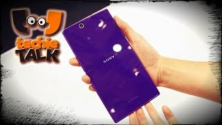 Sony Xperia Z Ultra is a powerful phone that's too large for your hand