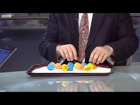 Higgs boson Science explained using sugar and ping-pong balls
