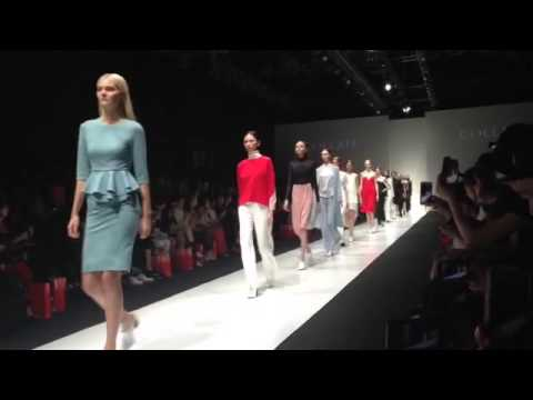 Collate show at Singapore Fashion Week 2015 - Finale Walk