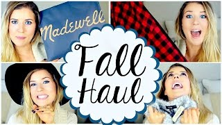 Fall Fashion Haul: Clothes, Shoes, Hats & MORE!