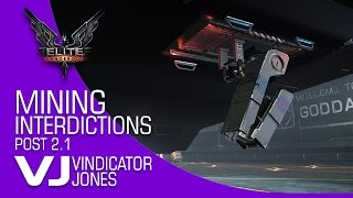 Elite Dangerous Mining Interdictions