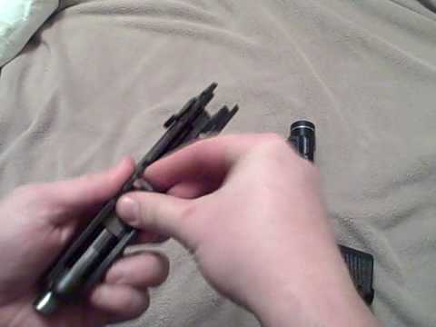 Drill - Ruger P95 Field Strip and Reassemble