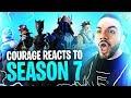 COURAGE REACTS TO SEASON 7! BEST SEASON YET?! (Fortnite: Battle Royale)