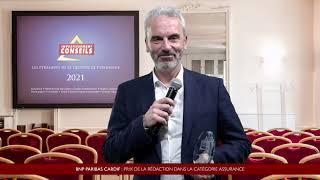 Interview de Yann PELARD, Directeur Développement Epargne & Retraite -  Réseaux CGP-Courtiers Cardif