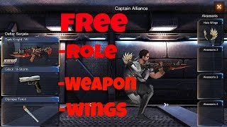 Crisis Action-How Can Get Free Role,Weapon,acc