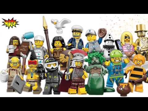 LEGO Minifigures Series 10 OFFICIAL Picture Preview with Mr. GOLD Minifigure 71001