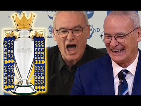 10 Funny Claudio Ranieri Press Conference Moments 2015/16 | #LCFCChampions