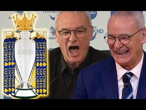 10 Funny Claudio Ranieri Press Conference Moments 2015/16 | #LCFCChampions