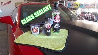 Adams Polishes Glass Sealant Kit how to use !