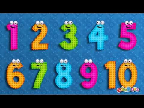 10 Little Numbers song for Children | Numbers song