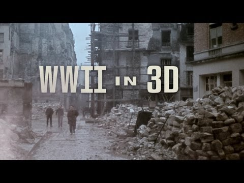 WWII in 3D - HD History 3D Blu-ray - Icluding real 3D footage shot almost 70 years ago. WW2 3D